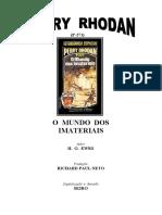 P-271 - O Mundo dos Imateriais - H. G. Ewers.doc