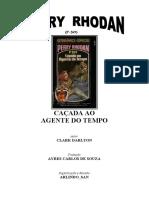 P-269 - Caçada ao Agente do Tempo - Clark Darlton.doc