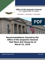 Horowitz Recommendations Report