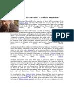 About the Narrator Abraham Shmueloff