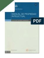 Manual de Propiedad Intelectual-Walker Echenique, Elisa