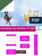 Información Familias 4º ESO 19-20