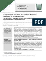 Manejo perinatal en el limite de la viabilidad. Propuestas.pdf