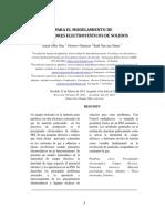Principios para el modelamiento de Precipitadores_Julián Gelis Orta_USBCTG_2014
