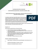 Info invitacion alcaldes y criterios convocatoria Bucaramanga