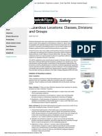 Hazardous Area Classification - Hazardous Locations - Quick Tips #124 - Grainger Industrial Supply