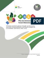 Plan de Asistencia Social Alimentaria