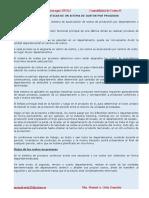 Caracteristicas del Sistema de costos por procesos