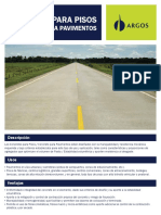 Ficha Tecnica Pavimentos