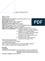 proiect compunere didactic