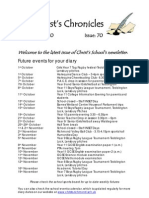 Christ's Chronicles Issue No 70