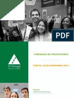 AE_Formacao_Professores_1718_PORTO