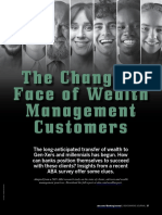 Changing face of wealth management customers