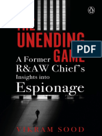 The Unending Game A Former RAW Chief's Insights into Espionage by Vikram Sood (z-lib.org)