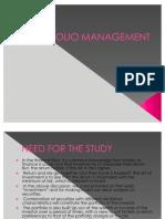 Portfolio Management Ppt1