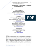 Contribuição da programação linear na gestão de custos e na produtividade