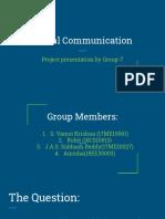 Viscom project presentaion