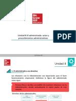 UD8 - El administrado. Actos y procedimientos administrativos