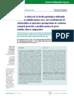 Evolución clínica de la herida quirúrgica utilizando sutura de Polidioxanona.pdf