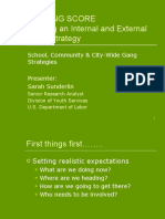 Building an Internal and External Gang Strategy PPT