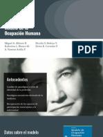Modelo de la Ocupación Humana