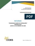 SPR-IPDO-044-2020 INFORME DEL PROGRAMA DIARIO DE OPERACIÓN DEL SEIN