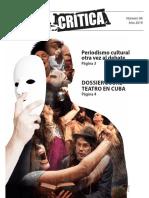 Zona Crítica No 4. Revista de crítica y pensamiento