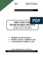 APSD 201520 Mecánico de Maquinaria Pesada Adecuado