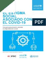 El estigma social asociado con el COVID-19 - UNICEF Uruguay.pdf