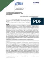 Desenvolvimento e caracterização de biocompósitos de polihidroxibutirato e fibra de bananeira