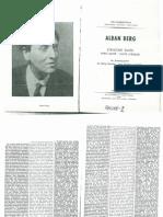Alban Berg-Suite Lyrique