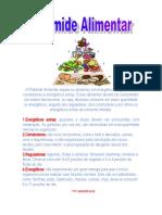 A Pirâmide Alimentar separa as alimentos em energéticos