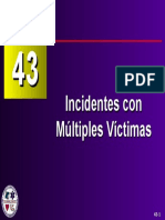 Capítulo 43 - Incidentes con Múltiples Víctimas 1 de 5