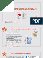 Transferencias documentales.