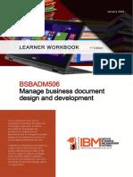 BSBADM506 Manage business document workbook IBM (1).pdf