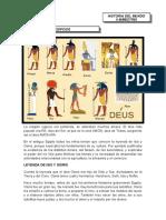 Dioses egipcios 5° y 6°