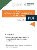 Tema 7 Correlacion regresion lineal simple