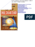 text_book_of_3_d_sphere_cone_and_cylinder