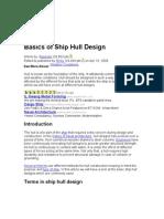 Basics of Ship Hull
