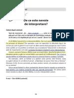 6 - De Ce Este Nevoie de Interpretare