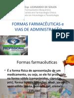 AULA 3 - Vias de administração e formas farmacêuticas.ppt