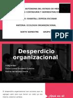 Desperdicio organizacional