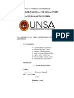 Experiencias en la Transformación Regional de Argentina oficial