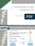 Cinemática de rotacion