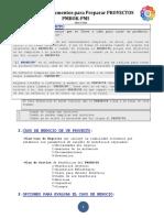 Requerimientos Para Preparar Proyectos PMBOK
