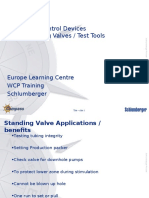 Standing valves