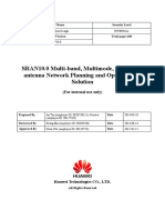 SRAN10.0 Multi-band, Multimode, and Multi-antenna Network Planning and Optimization Solution