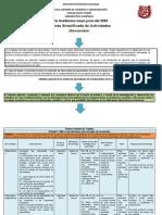 Agenda Simplificada de Actividades Grupo 1CXAA