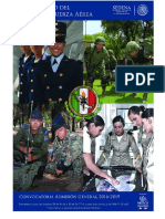 Convocatoria Admision General 2016 2019