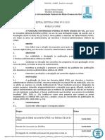 Edital Publica UFMS 2020